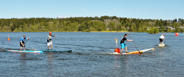 Stand Up Paddling in Stockholm Sweden (3)