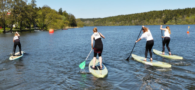 Stand Up Paddling in Stockholm Sweden (6)