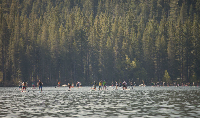 Tahoe Cup Donner Lake race
