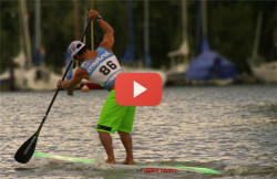 Danny Ching SUP speed world record