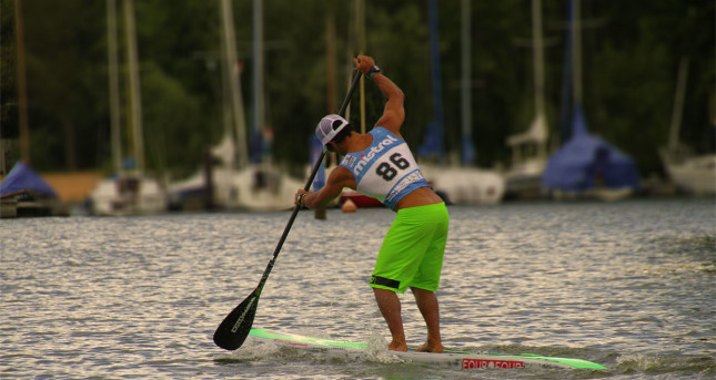 Danny Ching Stand Up Paddle speed