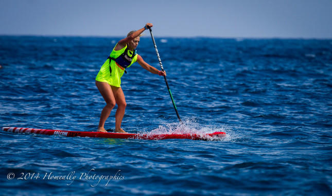 Deep SUP race Noja