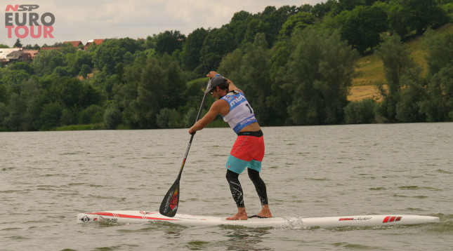 Eric Terrien wins Lost Mills SUP race