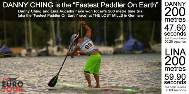 Lost Mills Fastest Paddler On Earth