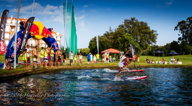 Noja Stand Up Paddle race