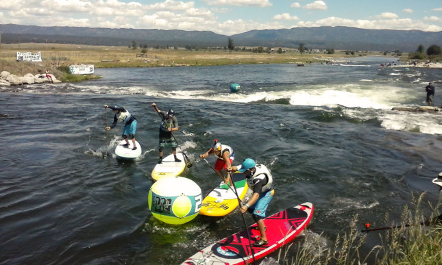 Payette River Games SUP Cross