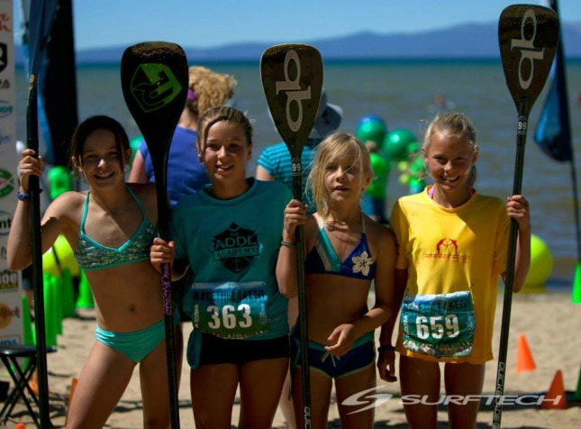 The Grom Races definitely stole the show... (photo: Surftech)