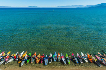 Race The Lake of the Sky SUP Lake Tahoe