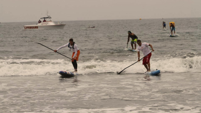 Santa Monica Pier SUP Race 2