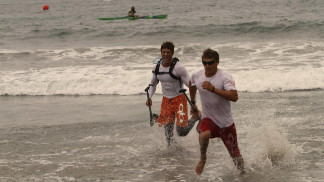 Santa Monica Pier SUP Race 4