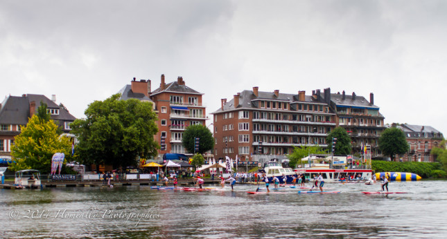 Stand Up Paddle race Namur