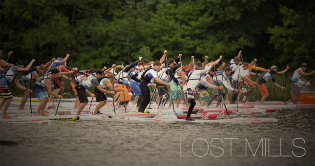 The Lost Mills SUP Race Germany