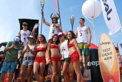 Italia SURF Expo Stand Up Paddle race