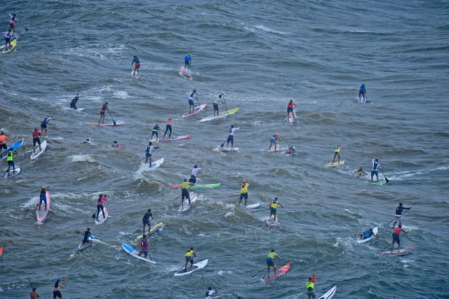 Maui SUP paddleboard race