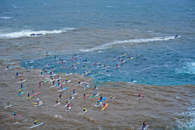 Maui Stand Up Paddleboard race