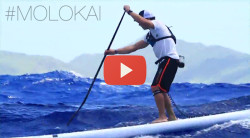 Molokai 2 Oahu SUP race video 2014