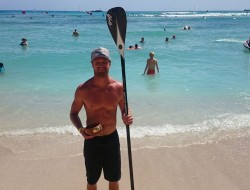 Andrew Logreco Oahu Stand Up Paddleboarder