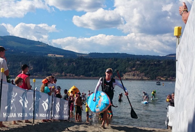 Connor Baxter gorge paddle challenge hood river