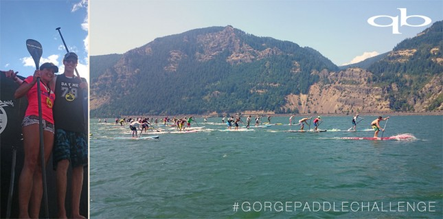 Gorge Paddle Challenge results 2014 day 2