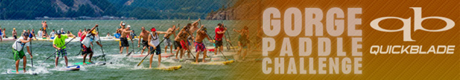 Gorge Paddle Challenge stand up paddle race Hood River