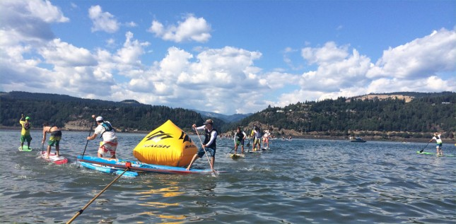 Gorge Paddle Challenge stand up paddleboard race