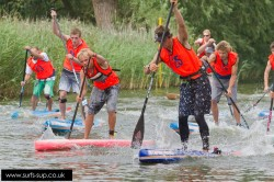 Norfolk Broads Stand Up Paddle board race