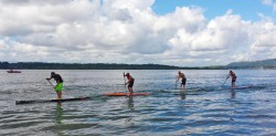 SUP Salmon Classic stand up paddle race washington