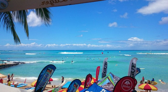 Waikiki Dukes OceanFest Stand Up Paddleboard racing