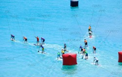 Y Race stand up paddle course