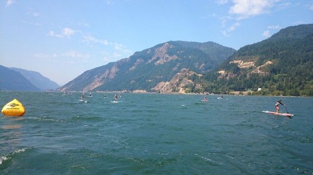 women's stand up paddle race gorge paddle challenge