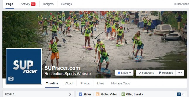 SUPracer.com new facebook cover