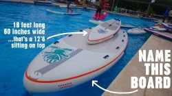 Starboard big inflatable stand up paddle board
