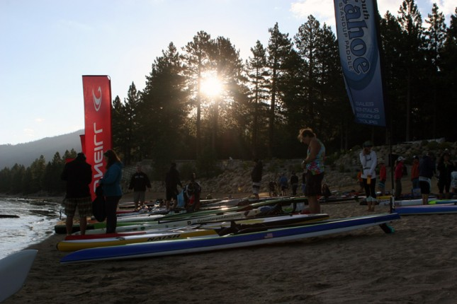 Tahoe Cup Fall Classic stand up paddle race