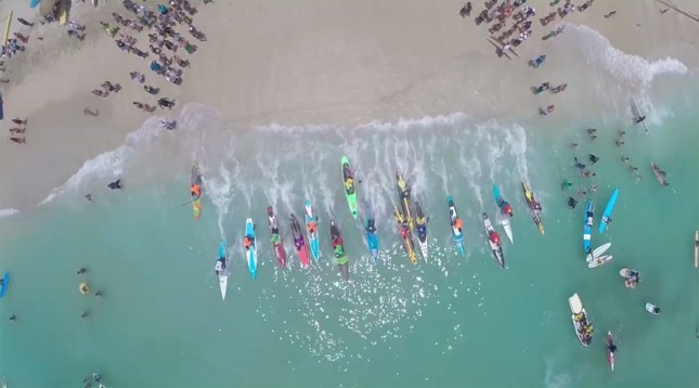 Ultimate SUP Showdown CBS - Stand Up Paddle race