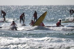 stand up paddle board race Battle of the Rock