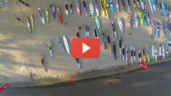 stand up paddle race drone camera video lake tahoe