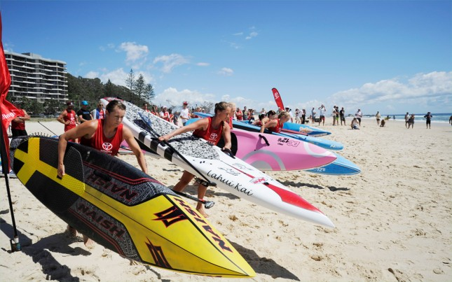 Aussie Titles of stand up paddling