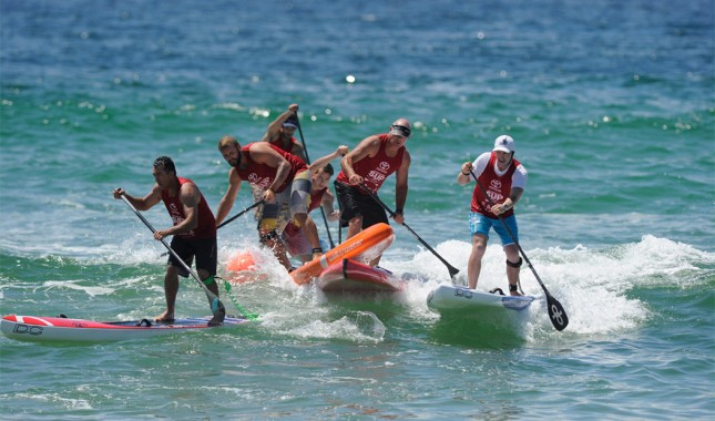 Australian stand up paddle titles
