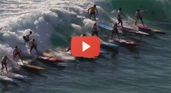 Battle of the Paddle SIC video stand up paddling