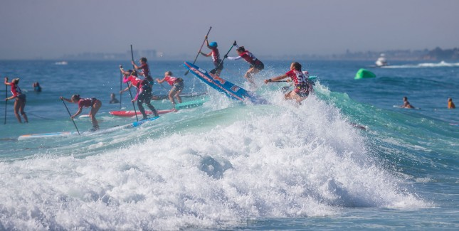 Battle of the Paddle Women's Elite Race
