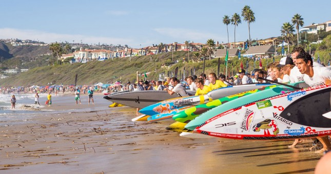 Battle of the Paddle stand up paddle race boards