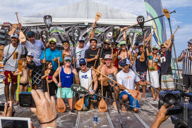 Battle of the paddle Brasil stand up paddle