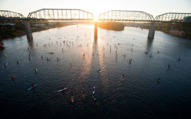 Chattajack paddle race Tennessee
