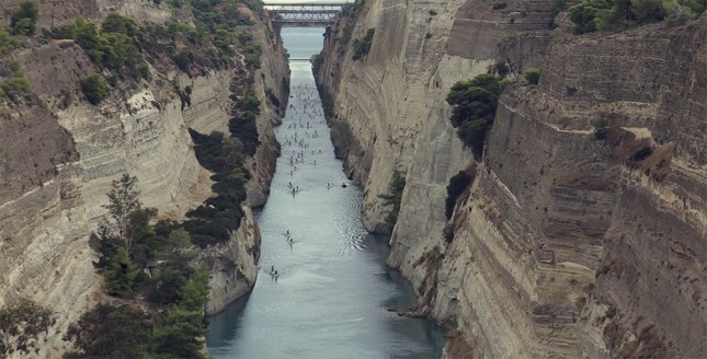 Hellenic SUP Cup Corinth Canal