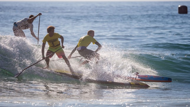 Kai Lenny Connor Baxter Battle of the Paddle incident