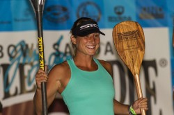Lina Augaitis stand up paddler