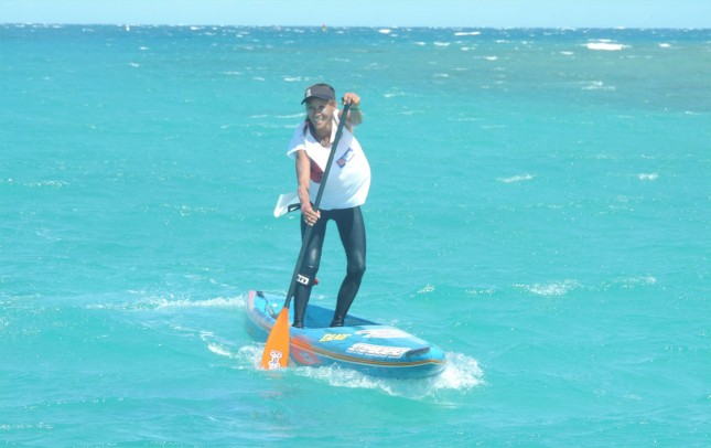 Stand Up Paddle downwind