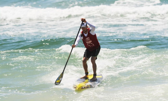 Toby Cracknell stand up paddler