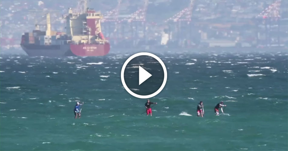 Watch Sup Downwinders In Cape Town Featured On Tv