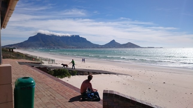 Cape Town downwind stand up paddle boarding